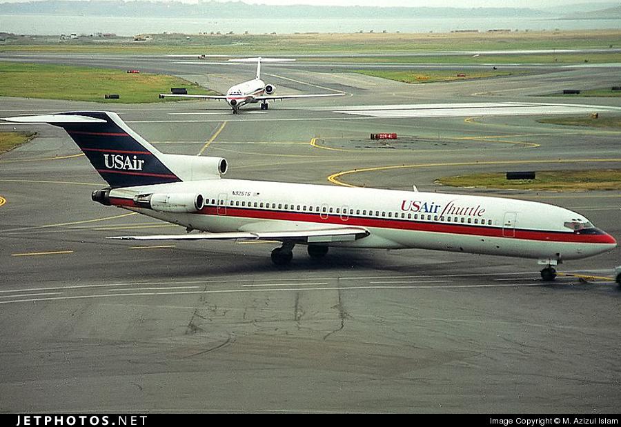 N925TS - Boeing 727-227(Adv) - USAir Shuttle