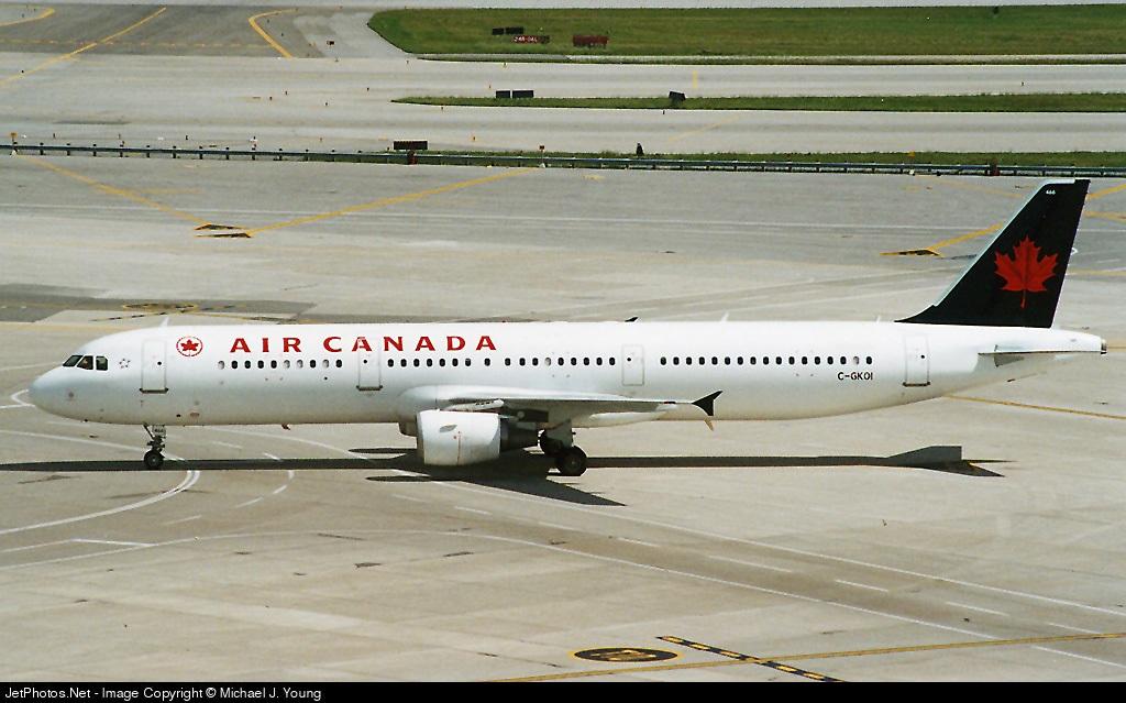 C-GKOI | Airbus A321-211 | Air Canada | Michael J. Young | JetPhotos