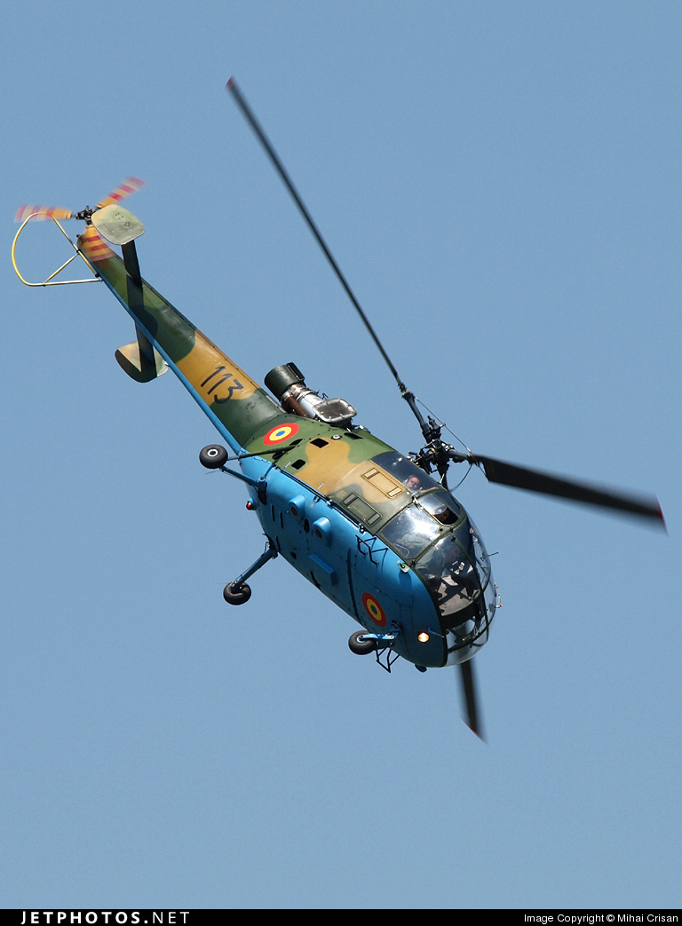 113 - IAR-316B - Romania - Air Force