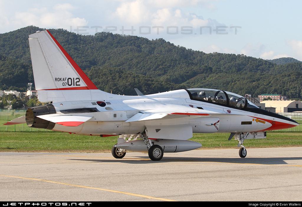 07-012 - KAI T-50 Golden Eagle - South Korea - Air Force