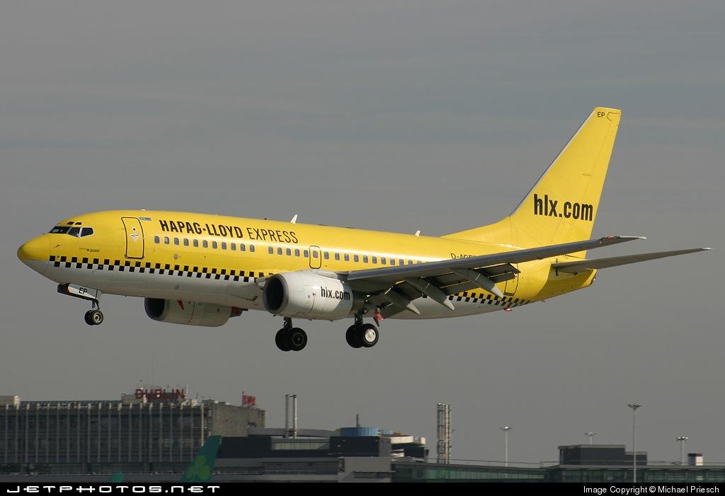 D-AGEP - Boeing 737-75B - Hapag-Lloyd Express (Germania)