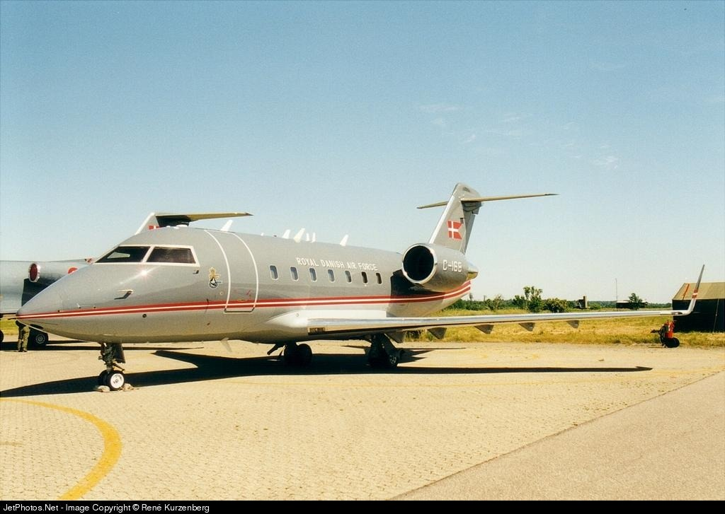 C-168 - Bombardier CL-600-2B16 Challenger 604 - Denmark - Air Force