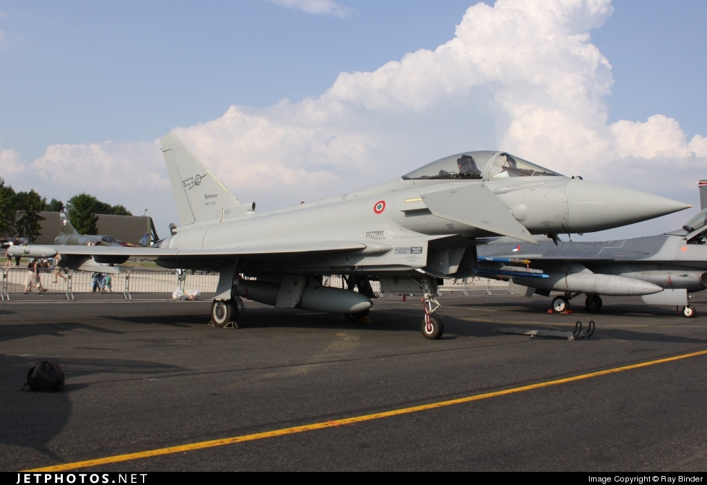 MM7296 - Eurofighter Typhoon EF2000 - Italy - Air Force