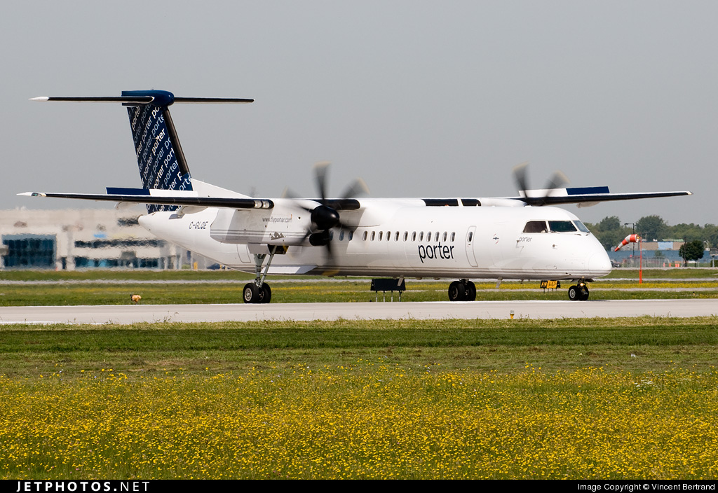 C-GLQE - Bombardier Dash 8-Q402 - Porter Airlines