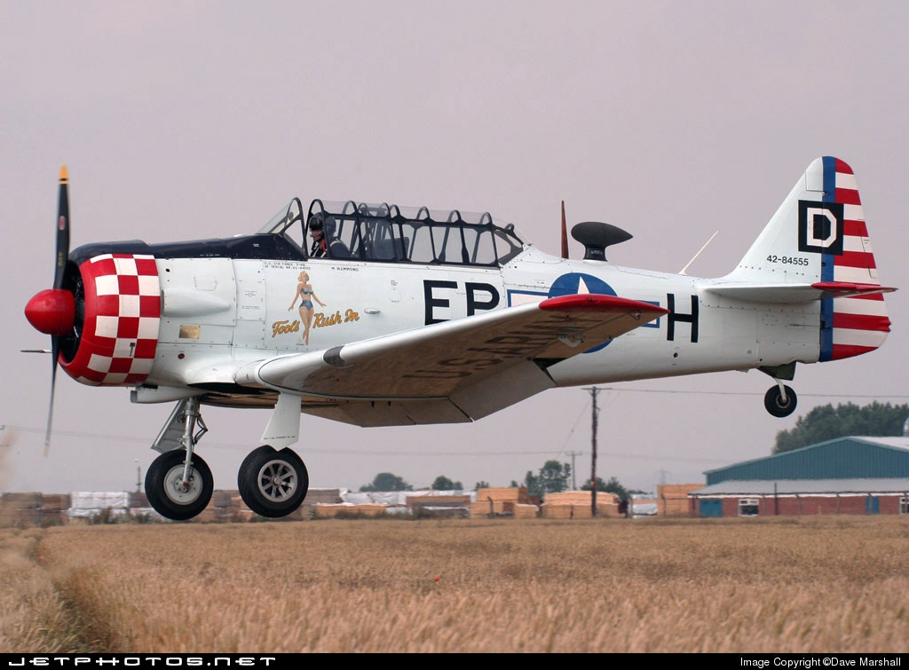 G-ELMH - North American AT-6D Harvard III - Private