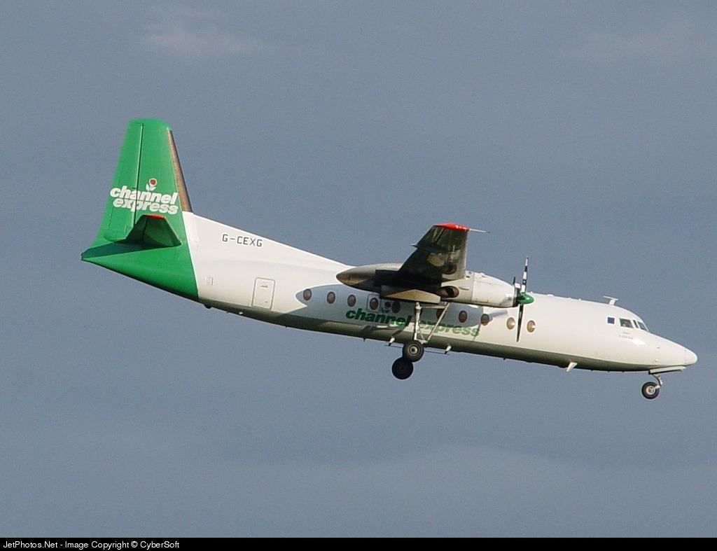 G-CEXG - Fokker F27-500 Friendship - Channel Express