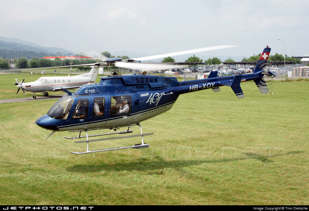 HB-XQY - Bell 407 - Central Helicopters