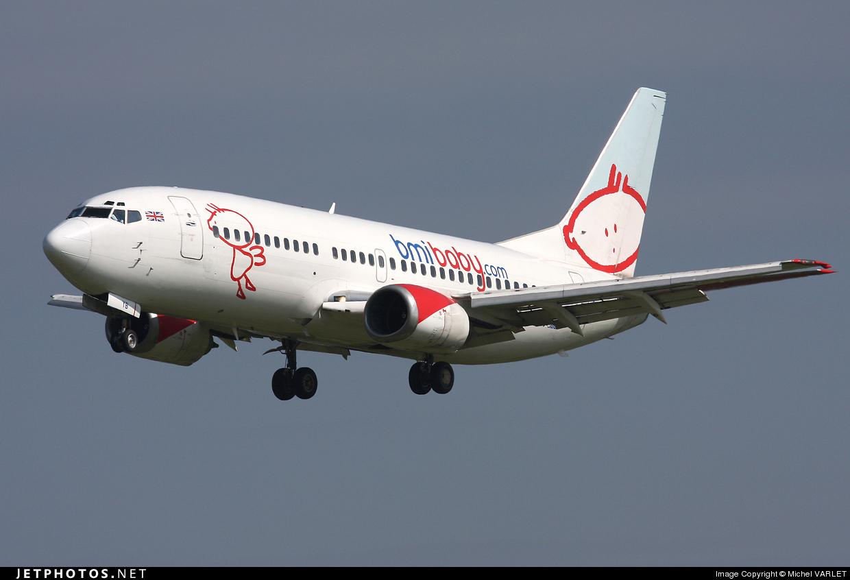 G-TOYB - Boeing 737-3Q8 - bmibaby