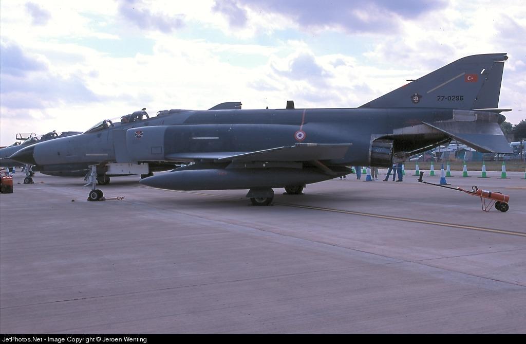 77-0296 - McDonnell Douglas F-4E Phantom II - Turkey - Air Force