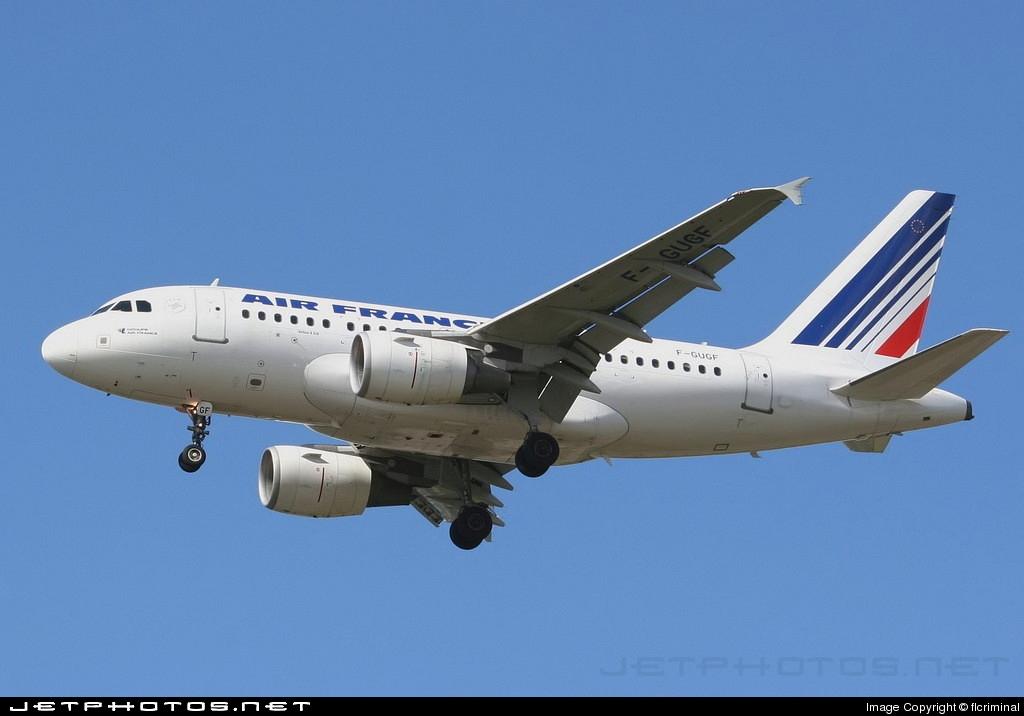 F-GUGF - Airbus A318-111 - Air France
