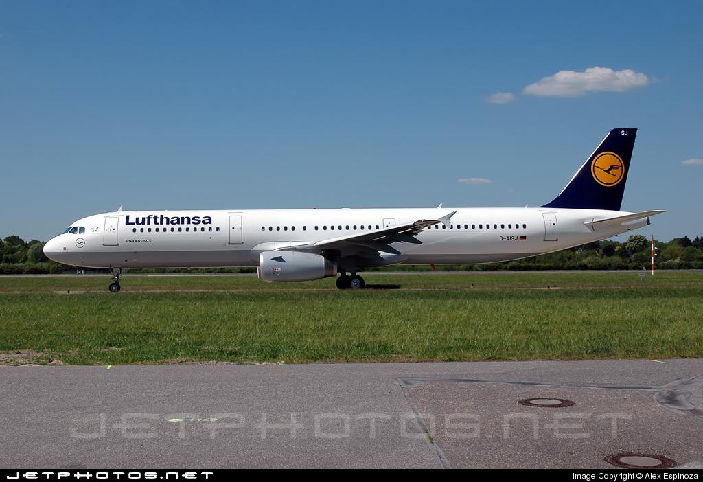D-AISJ - Airbus A321-231 - Lufthansa
