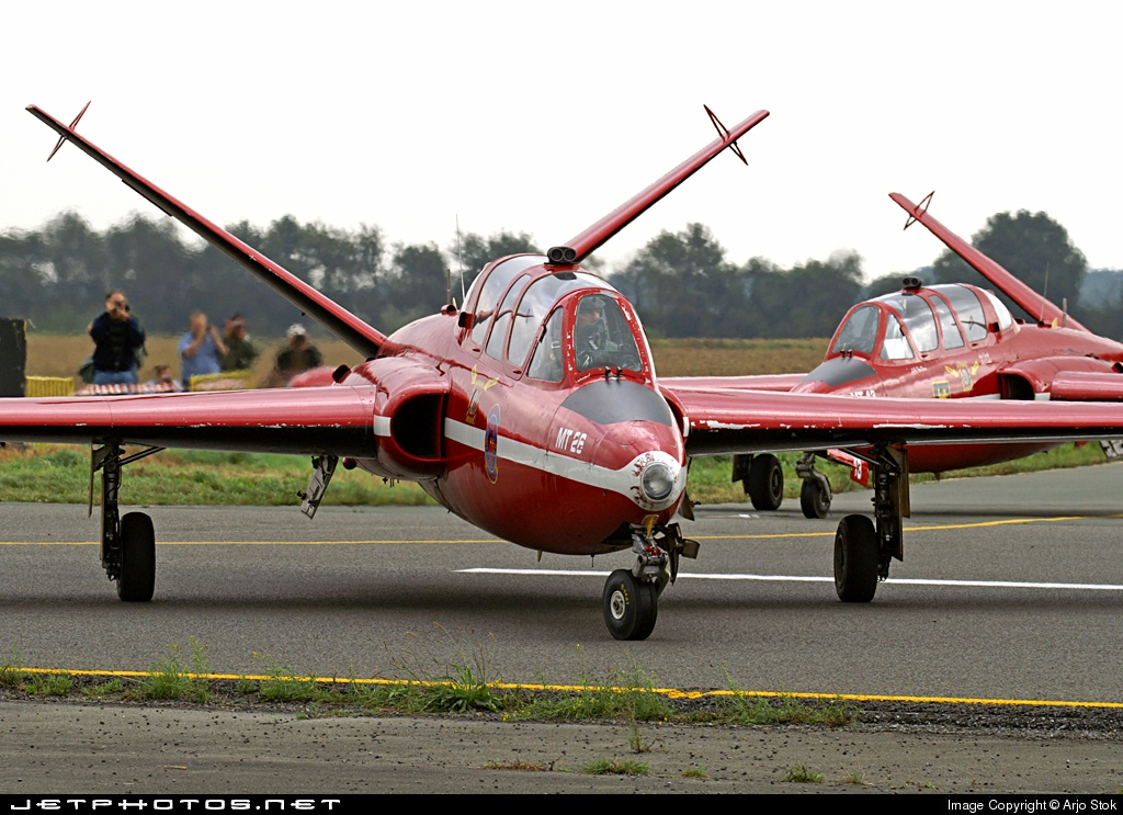 MT-26 - Fouga CM-170 Magister - Belgium - Air Force