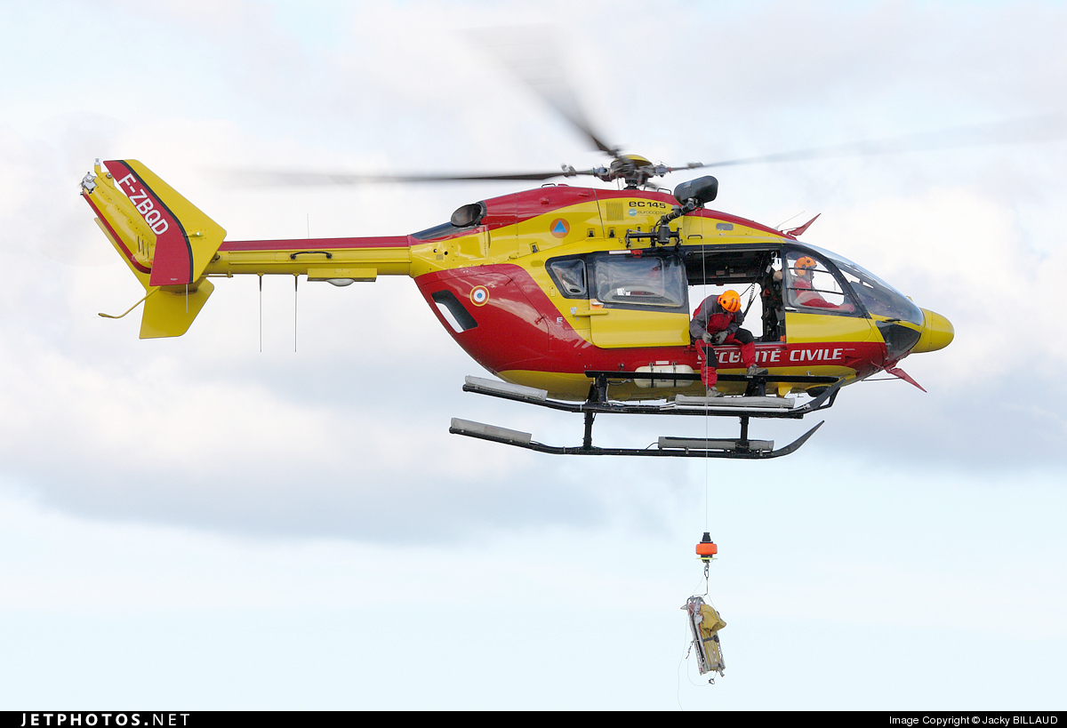 F-ZBQD - Eurocopter EC 145 - France - Sécurité Civile