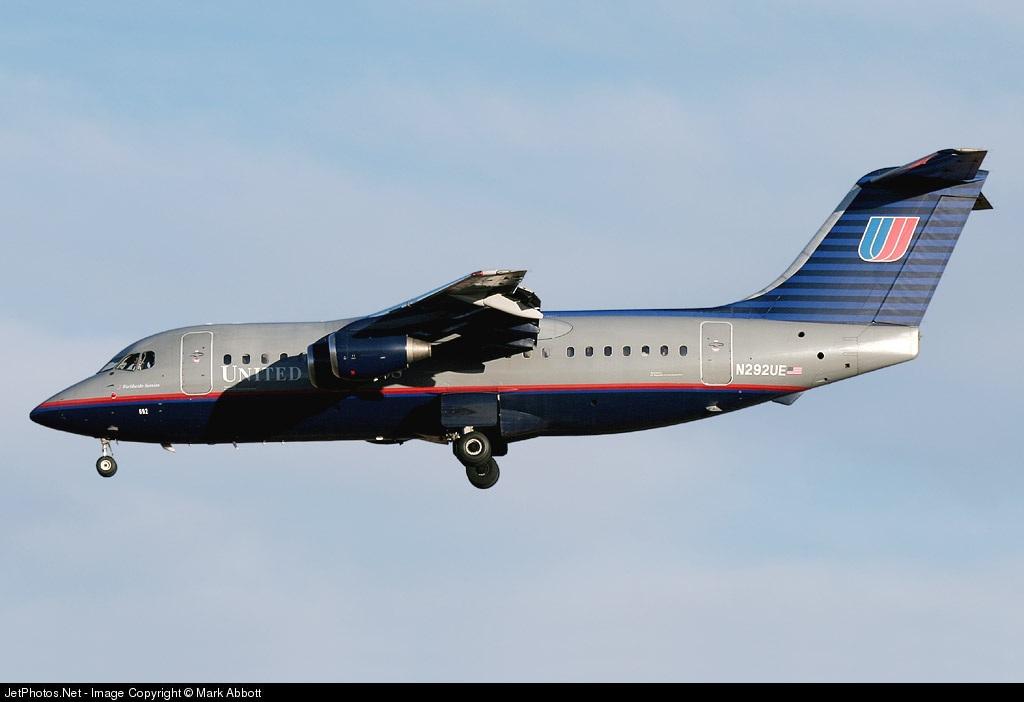 N292UE - British Aerospace BAe 146-200A - United Express (Air Wisconsin)