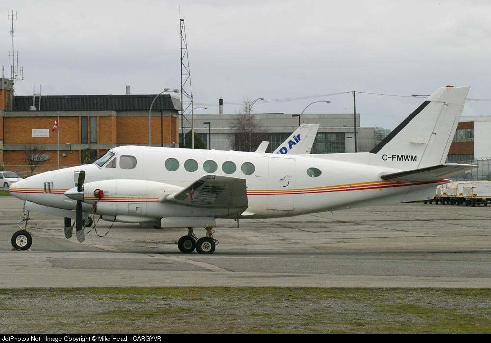 C-FMWM - Beechcraft 100 King Air - NT Air