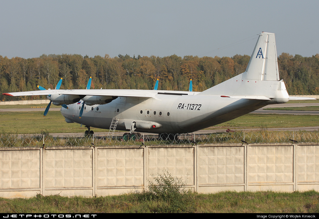 RA-11372 - Antonov An-12BP - Avial