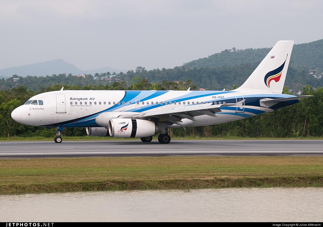 HS-PGT - Airbus A319-132 - Bangkok Airways