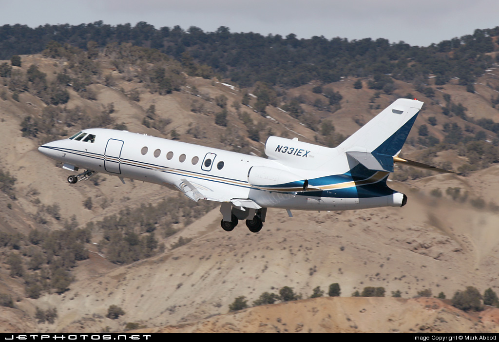 N331EX - Dassault Falcon 50EX - Private