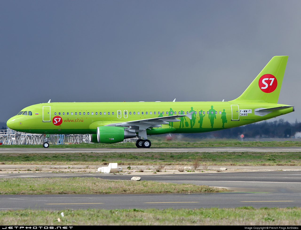 F-WWIT - Airbus A320-214 - S7 Airlines