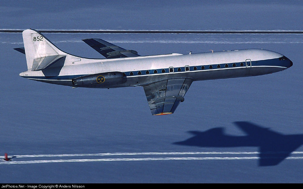 85210 - Sud Aviation Caravelle Tp85 - Sweden - Air Force