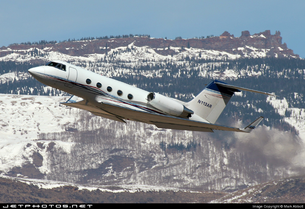 N113AR - Gulfstream G-II - Private