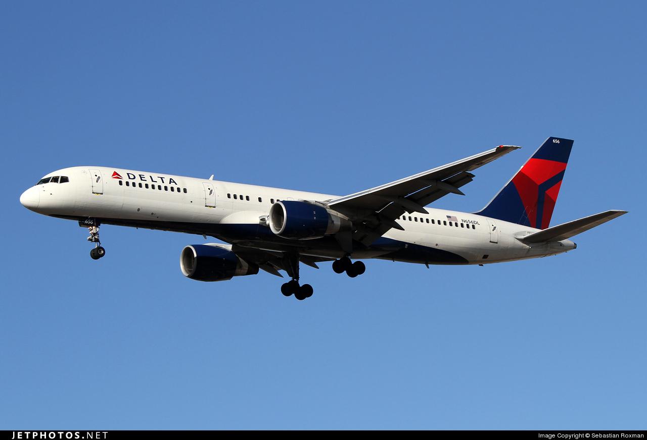 N656DL - Boeing 757-232 - Delta Air Lines
