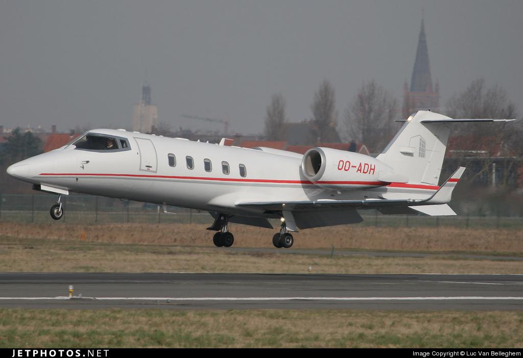 OO-ADH - Bombardier Learjet 60 - Abelag Aviation