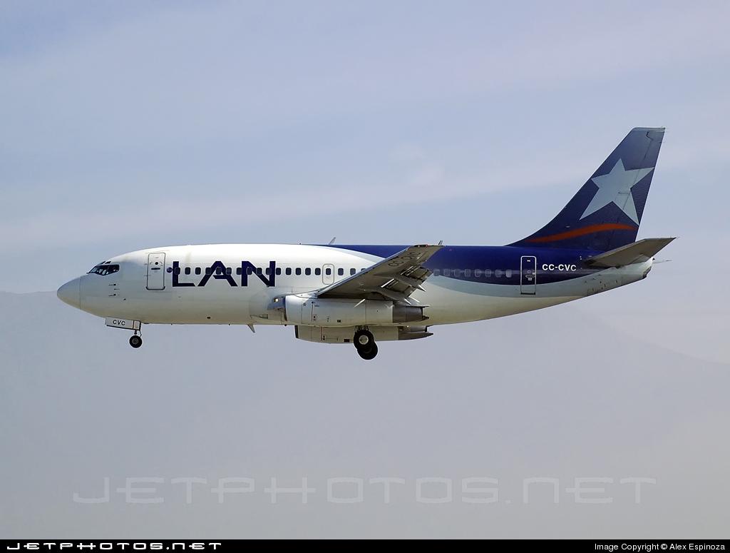 CC-CVC - Boeing 737-229(Adv) - LAN Airlines