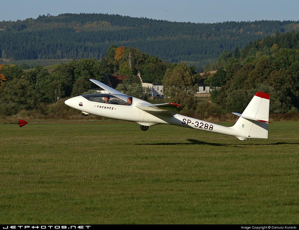 SP-3288 - SZD 50-3 Puchacz - Aero Club - Rybnik