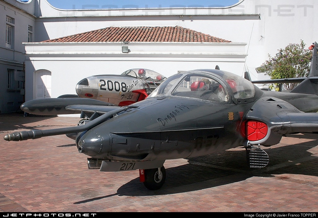 FAC2171 - Cessna A-37B Dragonfly - Colombia - Air Force