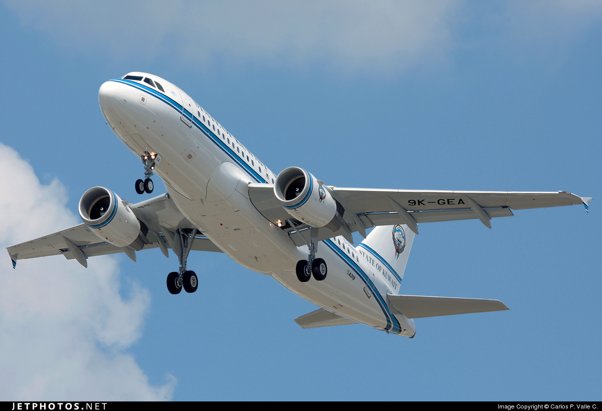 D-AVXO - Airbus A319-115X(CJ) - Kuwait - Government