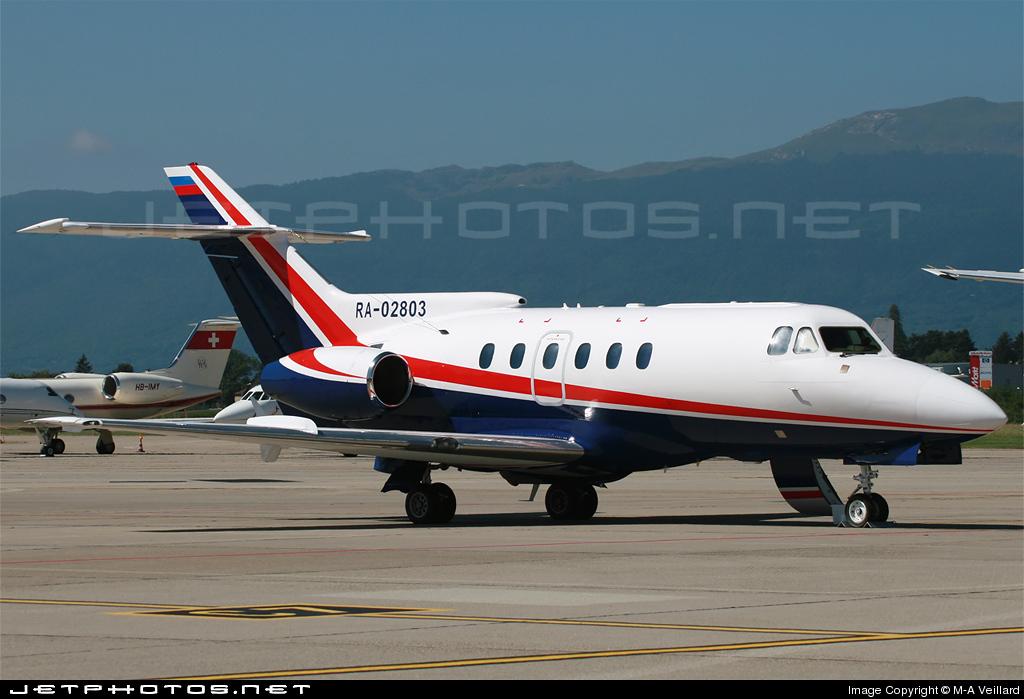 RA-02803 - British Aerospace BAe 125-700B - Avcom - Aviation Commercial