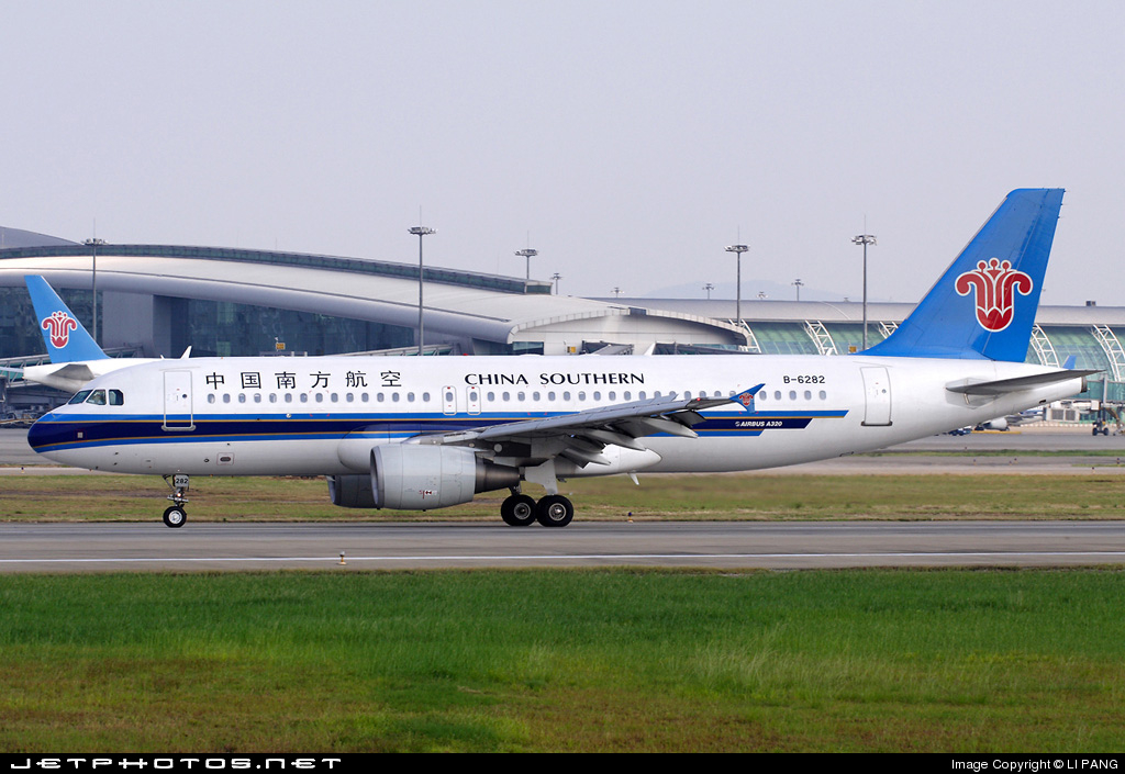 B-6282 - Airbus A320-214 - China Southern Airlines