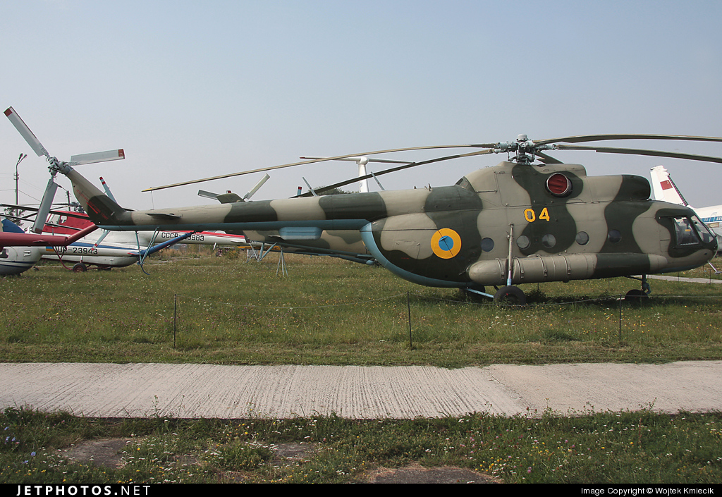 04 - Mil Mi-8T Hip - Ukraine - Air Force