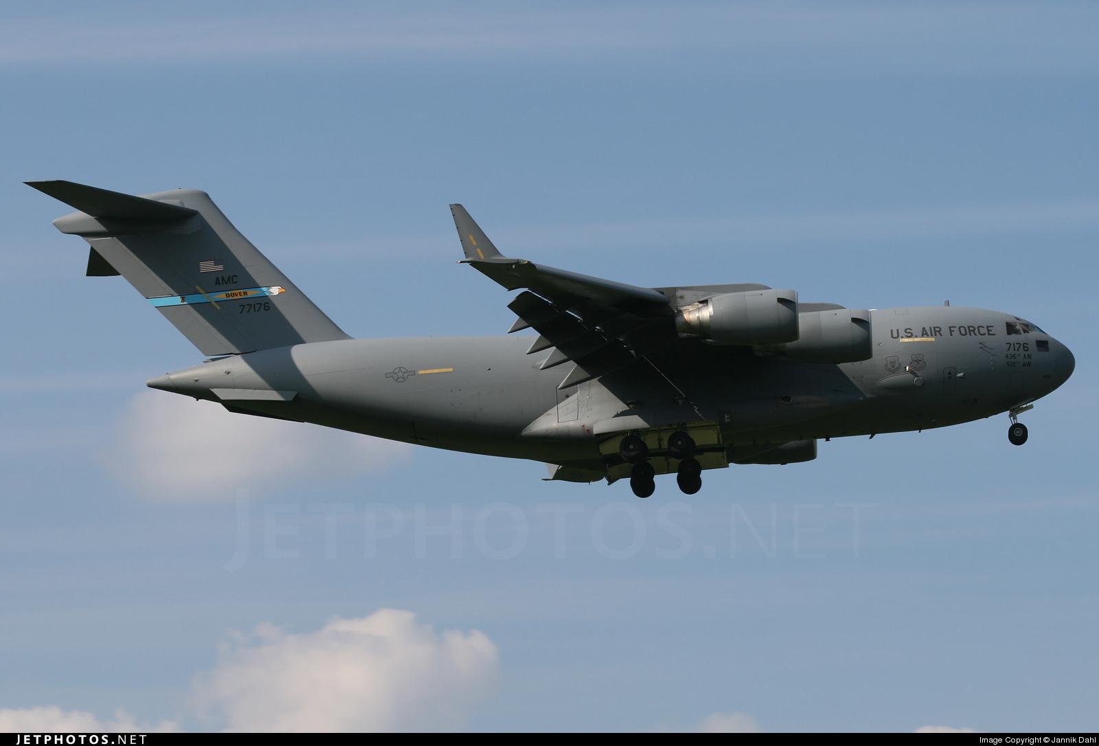 07-7176 - Boeing C-17A Globemaster III - United States - US Air Force (USAF)