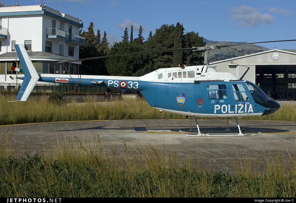 PS-33 - Agusta-Bell AB-206A JetRanger - Italy - Polizia di Stato
