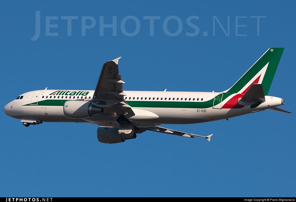 EI-EID - Airbus A320-216 - Alitalia