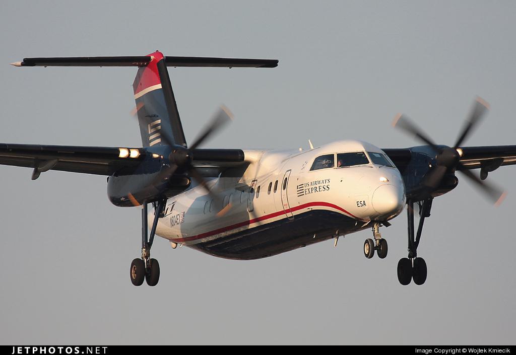 N804EX - Bombardier Dash 8-102 - US Airways Express (Piedmont Airlines)
