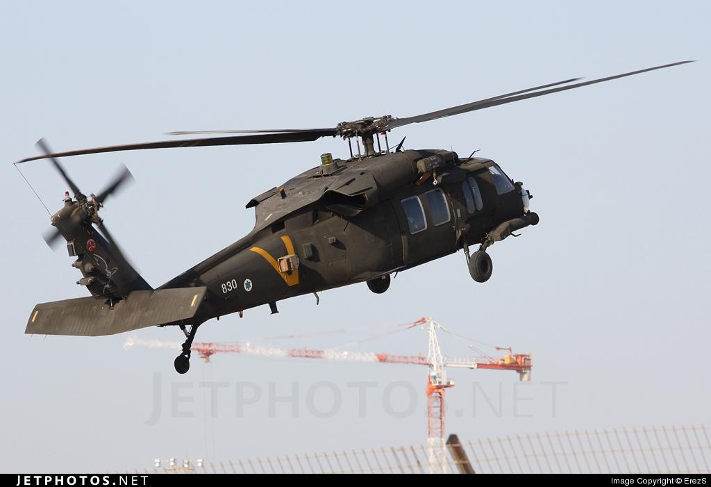 830 - Sikorsky S-70A-50 Yanshuf - Israel - Air Force