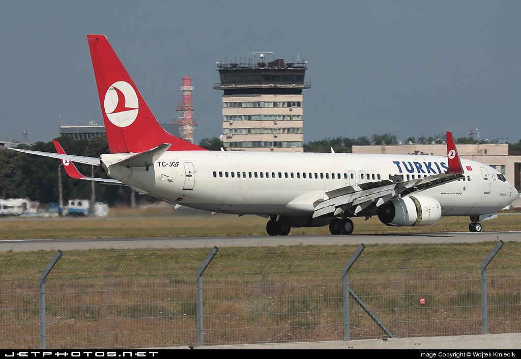 TC-JGF - Boeing 737-8F2 - Turkish Airlines