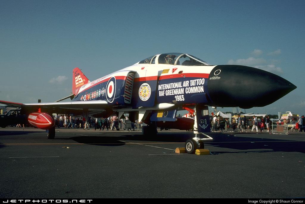 XT597 - McDonnell Douglas F-4 Phantom II - United Kingdom - Royal Air Force (RAF)