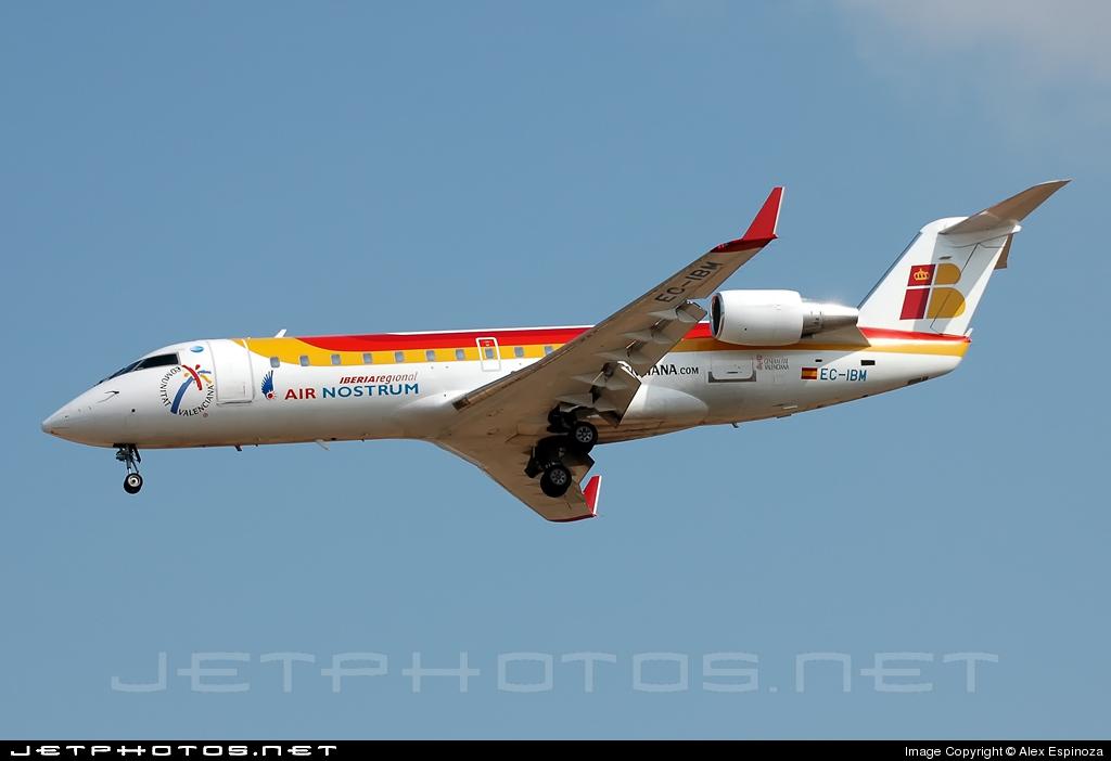 EC-IBM - Bombardier CRJ-200ER - Iberia Regional (Air Nostrum)