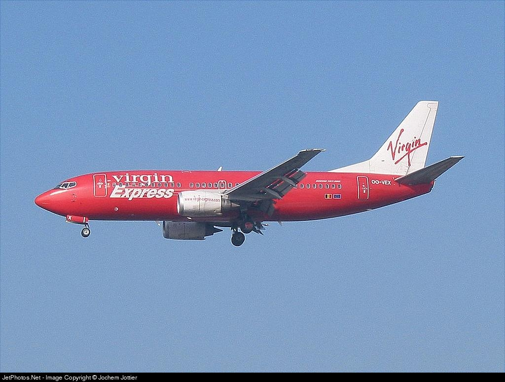 OO-VEX - Boeing 737-36N - Virgin Express
