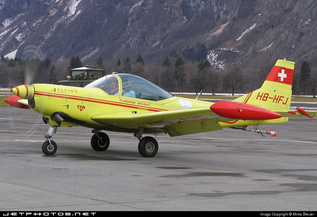 HB-HFJ - FFA AS-202/15 Bravo - Private