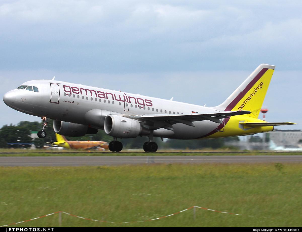D-AKNL - Airbus A319-112 - Germanwings