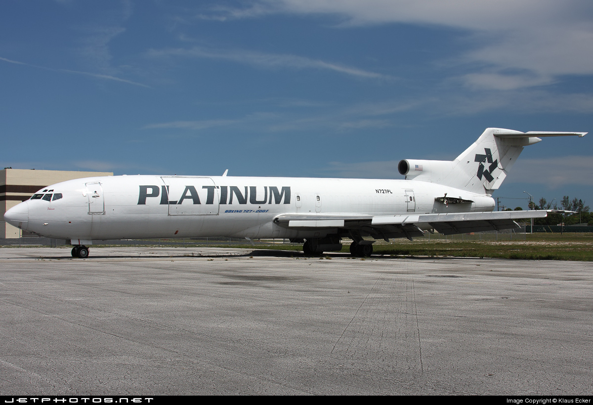 N727PL - Boeing 727-232(Adv)(F) - Platinum Air