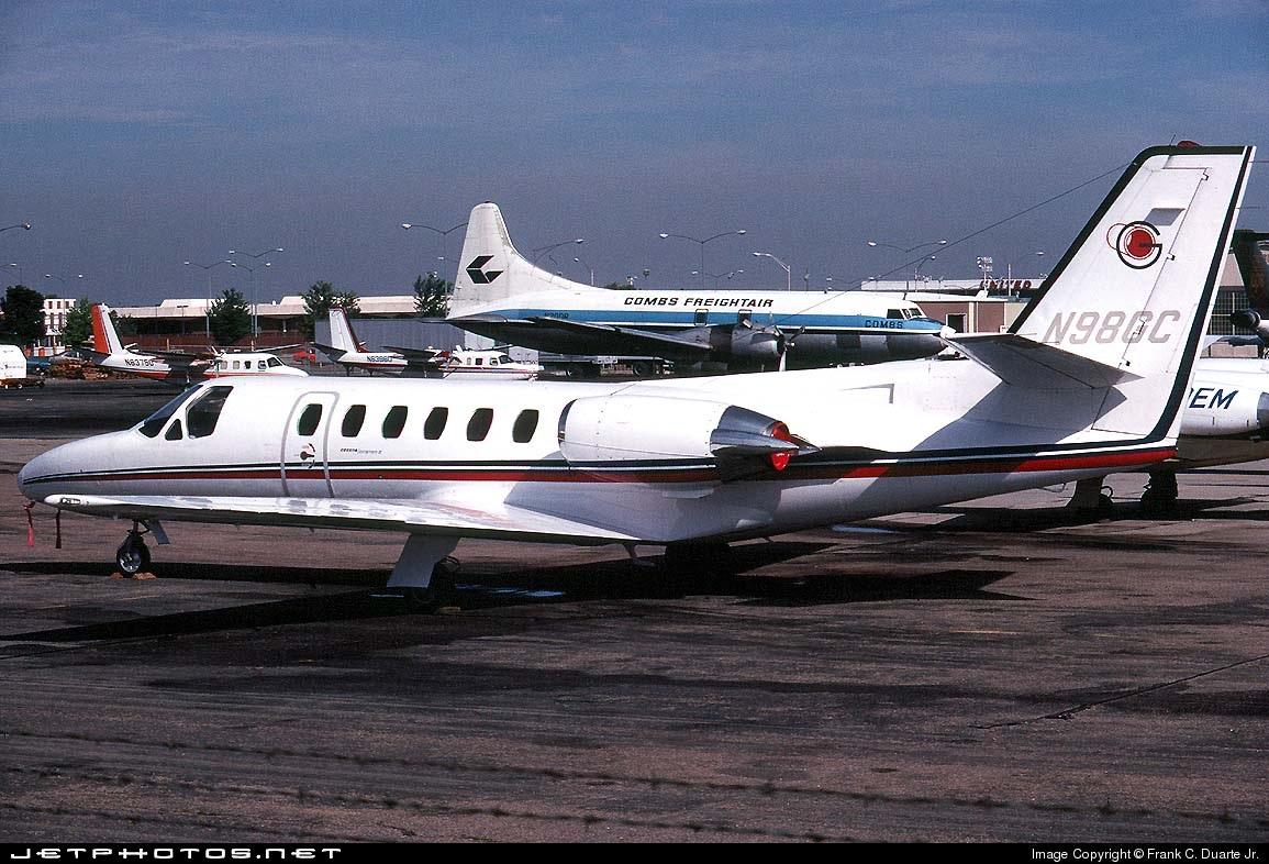 N98GC - Cessna 501 Citation SP - Private
