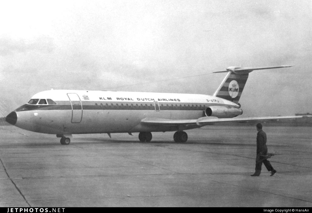 G-ATPJ - British Aircraft Corporation BAC 1-11 Series 301AG - KLM Royal Dutch Airlines
