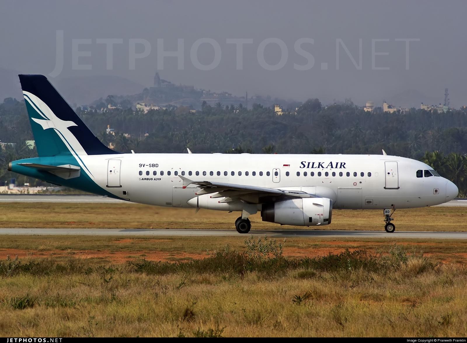 9V-SBD - Airbus A319-132 - SilkAir