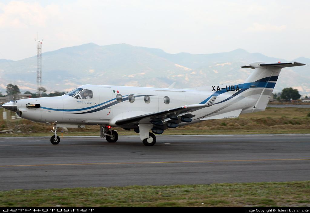 XA-UBA - Pilatus PC-12 - Servicios Aéreos Poblanos